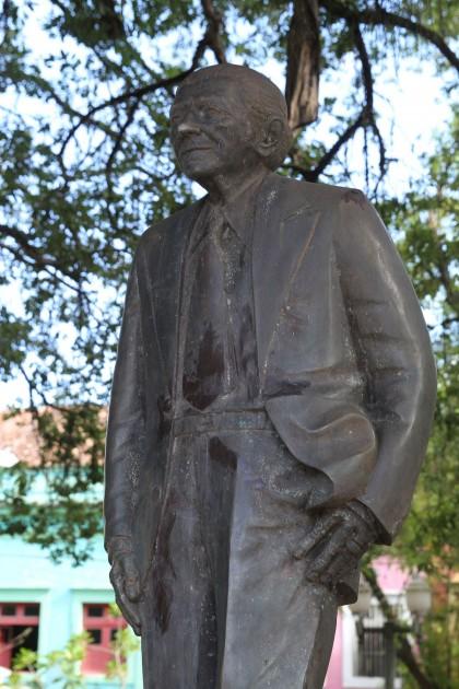 Escultura de Gilberto Freyre