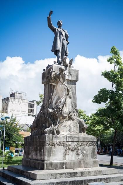 Monumento ao abolicionista Joaquim Nabuco