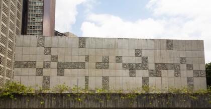 Painel de Placas de Concreto, 1968