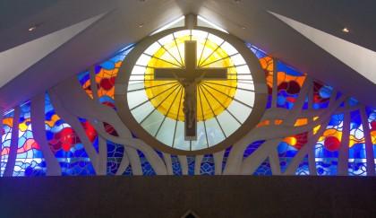 Vitral Igreja Nossa Senhora de Fátima, s.d.